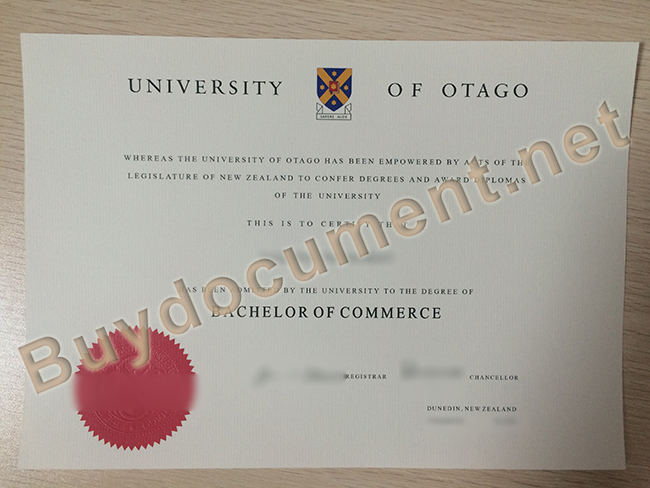 buy fake University of Otago diploma, University of Otago degree sample
