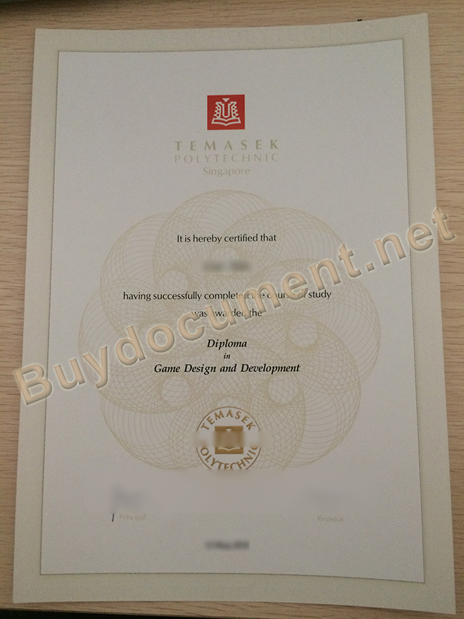 fake Temasek Poly diploma, buy fake Temasek Poly certificate