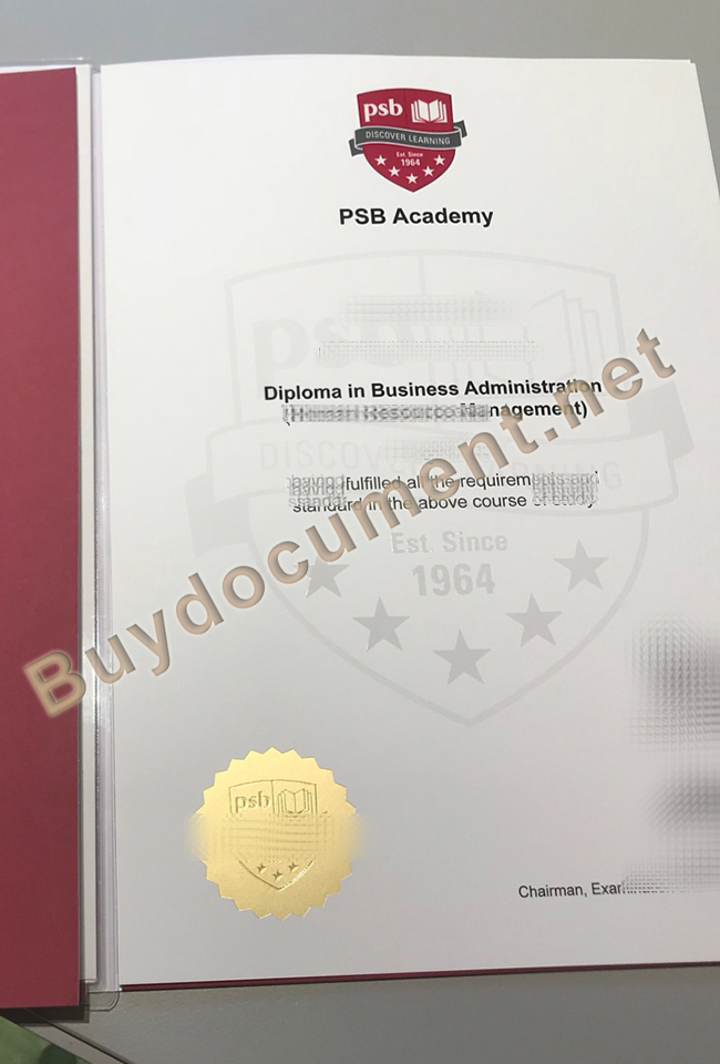 buy fake PSB Academy diploma, PSB Academy certificate