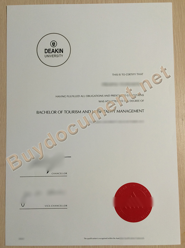 buy fake Deakin University diploma, Deakin University fake degree