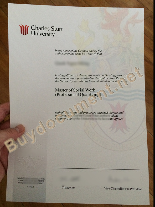 buy fake Charles Sturt University diploma, fake degree
