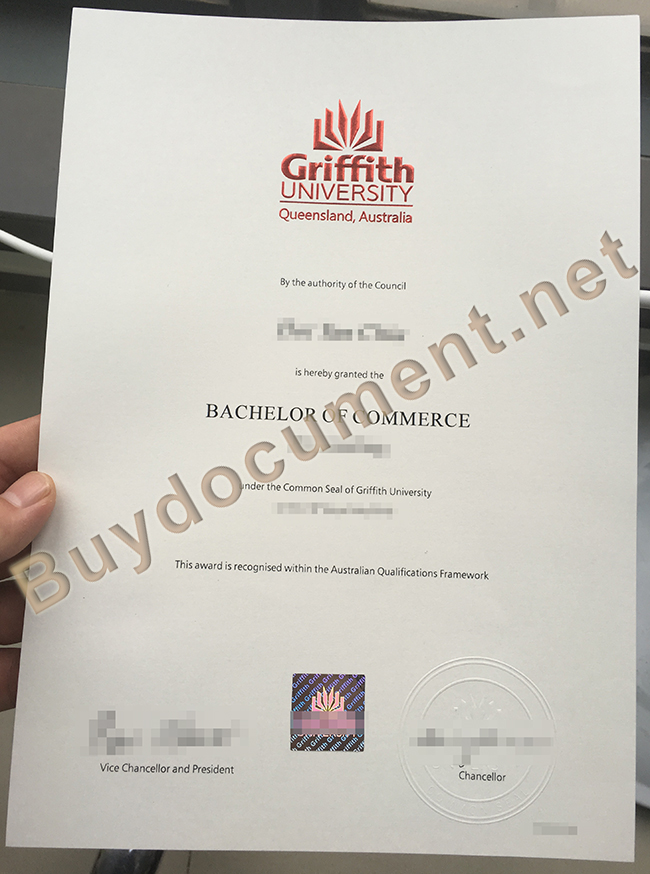 buy fake Griffith University diploma, Griffith University degree sample