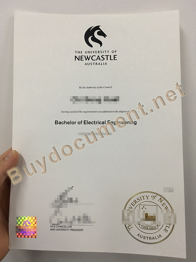 fake University of Newcastle degree, University of Newcastle diploma order