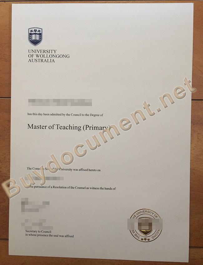 buy fake University of Wollongong degree, University of Wollongong diploma