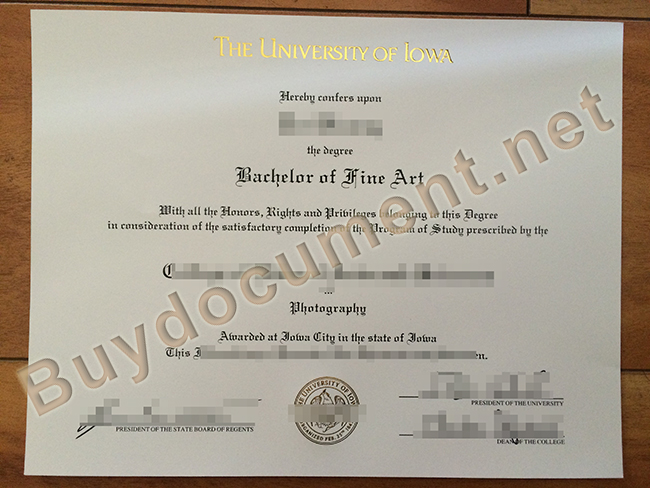 buy University of Iowa fake degree, University of Iowa diploma order