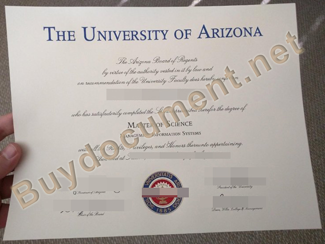 fake University of Arizona diploma, buy University of Arizona fake degree