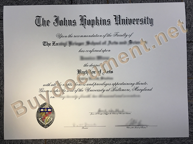 buy Johns Hopkins University fake degree, Johns Hopkins University diploma order