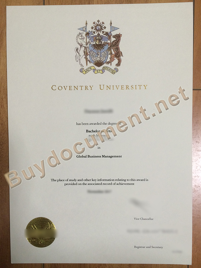 buy Coventry University fake degree, Coventry University diploma order