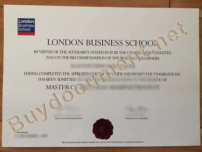 London Business School fake degree, London Business School diploma order