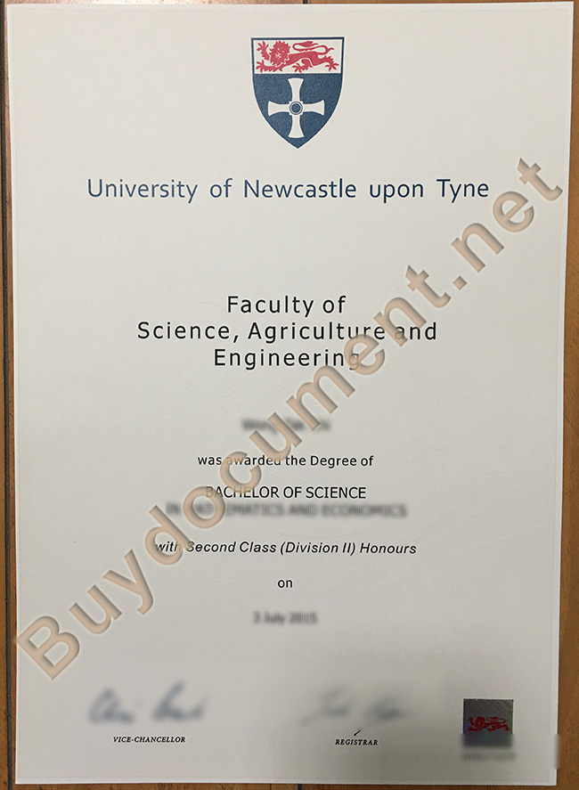 Newcastle University diploma, Newcastle University degree