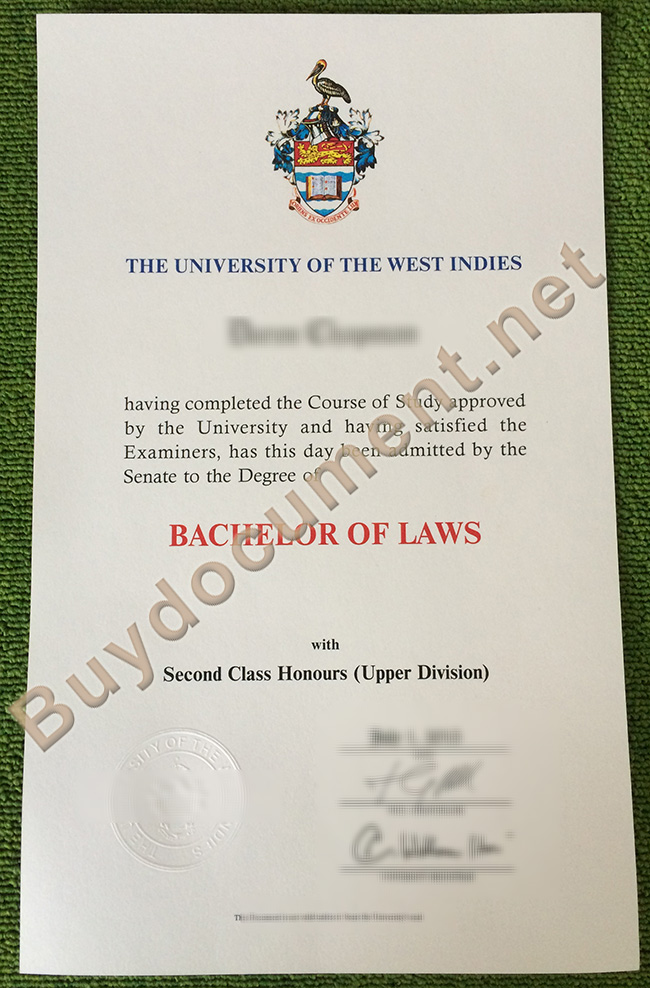University of the West Indies diploma, University of the West Indies degree