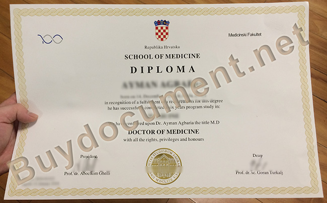 University of Zagreb diploma, University of Zagreb degree