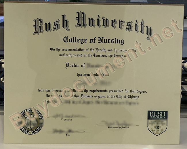 fake Rush University degree, buy fake diploma