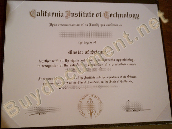 fake California Institute of Technology degree, buy fake diploma online