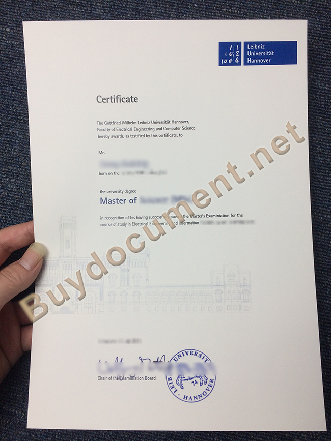 Leibniz University Hannover fake diploma, Leibniz University Hannover degree