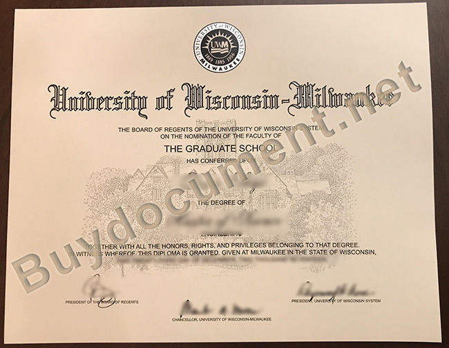 University of Wisconsin-Milwaukee diploma, fake University of Wisconsin-Milwaukee degree