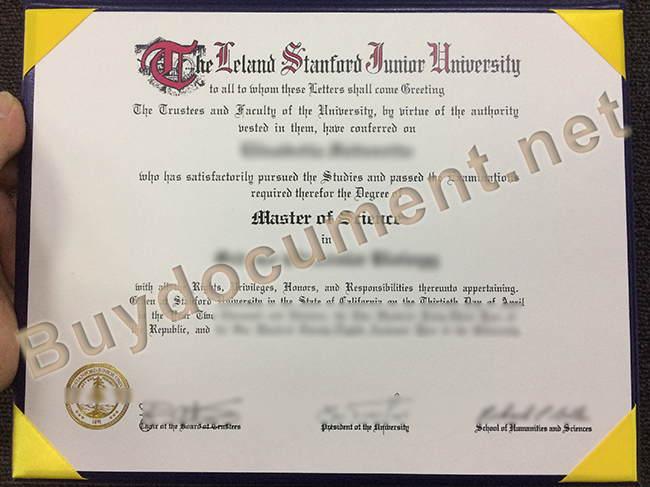 fake Stanford University diploma, Stanford University degree