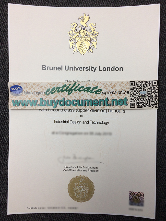 Brunel University London diploma, fake Brunel University London degree