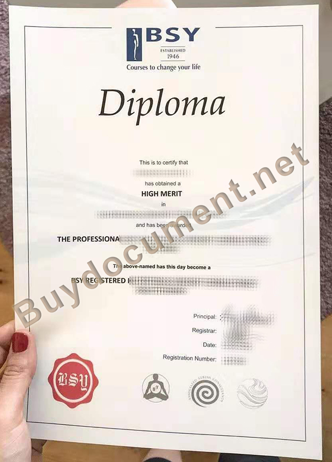 fake BSY Group diploma, BSY Group certificate, buy fake diplomas