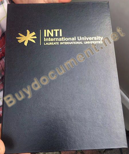 INTI Leather Cover, fake INTI Leather Cover, buy INTi fake diploma