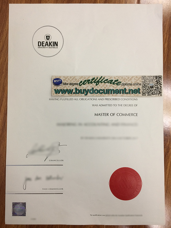 Deakin University diploma, Deakin University degree, fake certificate, buy fake diploma