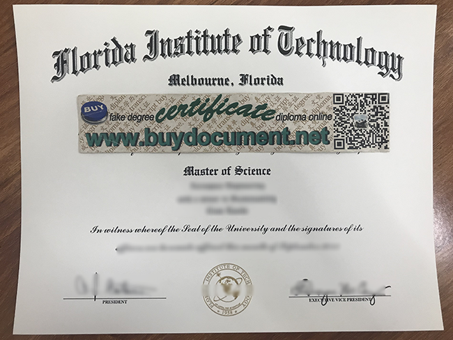 Florida Institute of Technology diploma, Florida Institute of Technology degree, fake Florida Institute of Technology certificate, buy fake diploma